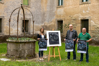 Presentado o cartel da XXV Festa da Faba, que se celebrará en Lourenzá do 2 ao 4 de outubro. É obra do artista alfocense Hipólito Xeada.