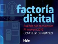 O 9 de maio darán comezo os novos micro talleres da Axenda das Tecnoloxías de Primavera do Concello de Ribadeo. En abril foron 56 as persoas que participaron nos obradoiros impartidos.