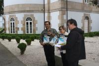 Presentadas na Deputación de Lugo as Feiras do Libro que se celebrarán en agosto en Viveiro, en Foz e en Monforte.