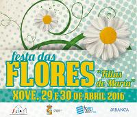 Todo está preparado en Xove para a celebración da Festa das Flores os días 29 e 30 de abril. Roberto Vilar será o pregoeiro.