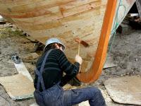 O carpinteiro de ribeira Fran Fra intervirá este sábado, 23 de maio, nunha tertulia en Viveiro, organizada por Pensamento e Sementeira.