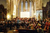 """Todo está listo en Burela para a celebración o 25 de novembro do """"Concerto da Fraternidade"""", que reunirá arredor de 150 músicos de Viveiro, Xove, Mondoñedo, Burela e Lugo."""