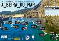 """A Mariña e Ortegal acollerán en maio e xuño os III Obradoiros Gastronómicos """"Á beira do mar"""" e un taller de mar infantil."""
