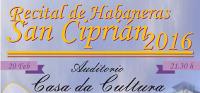 A Casa da Cultura de San Cibrao será escenario este sábado, 20 de febreiro, dun recital de habaneras, que organiza Terras da Mariña.