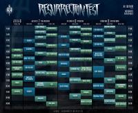 Ya están disponibles los horarios del XI Resurrection Fest, que se celebrará en Viveiro del 6 al 9 de julio. Iron Maiden saltará al escenario el sábado a las nueve de la noche.