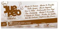 Este xoves, 17 de setembro, arrinca unha nova edición do Juepeo, os xoves en Viveiro tapeo.