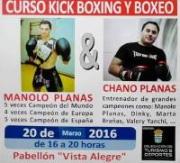 Burela será escenario o 20 de marzo dun curso de kick boxing e boxeo, que impartirán Chano e Manolo Planas.