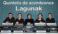 O Quintento de Acordeóns Lagunak, de Vitoria-Gasteiz, actuará o sábado, 21 de marzo, no Cine Teatro de Ribadeo.