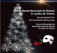 A Banda Municipal de Música O Landro, de Viveiro, ofrecerá este mércores, 30 de decembro, o seu tradicional concerto de Nadal. Será no Pastor Díaz ás 21 horas.
