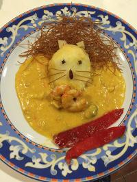 """Refugio Tapería O Castro, de Barreiros, ofrecerá este viernes a sus clientes una versión mejorada del popular plato denominado """"león come gamba""""."""