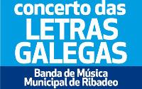 O Cine Teatro, de Ribadeo, acollerá este sábado, 30 de maio, o Concerto das Letras Galegas da Banda de Música Municipal ribadense.