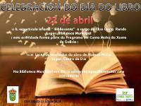 O Concello laurentino programa actividades para celebrar o día do libro na Biblioteca Municipal e no centro de día para maiores o 22 de abril.