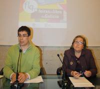 No Pazo de San Marcos presentáronse as catro feiras do libro que se celebrarán nos vindeiros meses na provincia: Lugo, Viveiro, Foz e Monforte.