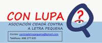 A Asociación Cidadá contra a Letra Pequena (Con Lupa) preséntase este martes, 17 de marzo, en Foz.