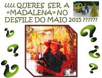 O Concello de Lourenzá convoca un concurso para elixir á Madalena deste 2015, unha das protagonistas do desfile do maio. As interesadas poden anotarse ata o 27 de abril.