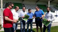 """Do 11 ao 16 de xullo celebrarase en Burela a cuarta edición do campus de fútbol base """"Máis que fútbol"""", que organiza Imdecum."""