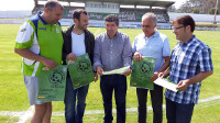 """Imdecum presentou o 3º campus """"Máis que fútbol"""" de Burela, que se celebrará do 13 ao 18 de xullo."""