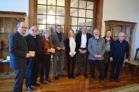 Deputación de Lugo, Concello de Viveiro e RAG de Belas Artes desenvolverán actuacións conxuntas en homenaxe a Maruja Mallo.