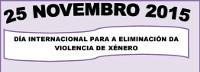 """O Concello de Cervo convoca o IX Concurso de Narración """"Carta a un maltratador"""" con motivo do día internacional para a eliminación da violencia de xénero."""