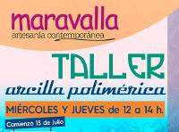 La tienda de artesanía Maravalla, de Ribadeo, acogerá un taller de arcilla polimérica los miércoles y los jueves a partir del 15 de julio.