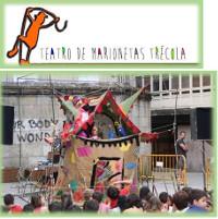 Este sábado, 19 de setembro, o Grupo de Marionetas Trécola ofrecerá un espectáculo na praza da Fontenova, en Viveiro. Organiza: Viveiro CCH.