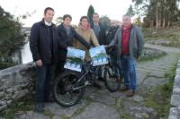 """O 20 de marzo celébrase a sétima """"Ruta Enduro Medela"""" en bicicletas de montaña, que patrocina o Concello de Cervo."""