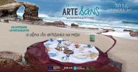 A segunda edición dos Menús Arte_sáns desenvolverase do 1 ao 20 de abril. Na cita participan 10 artesáns e 10 restaurantes da Mariña lucense.