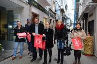 """O Goberno da Deputación presentou en Viveiro a campaña """"Merca en Lugo polo Nadal"""", que chega a 5.000 establecementos comerciais en toda a provincia."""
