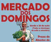 """O 28 de xuño arrinca unha nova edición do """"Mercado dos Domingos"""" en Ribadeo. En 12 postos atoparemos produtos da horta local e artesáns."""