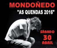 Mikel Erentxun actuará en Mondoñedo o 30 de abril. O concerto enmárcase na programa das feiras e festas das Quendas.