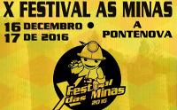 Todo está listo en A Pontenova para a celebración do X Festival As Minas, que terá lugar os días 16 e 17 de decembro.