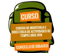 Ata o 23 de febreiro estará aberto o prazo de inscrición para participar nos cursos de monitor e director de actividades de tempo libre, que oferta a Concellaría de Mocidade de Ribadeo.