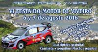 Los días 6 y 7 de agosto se celebrará en Viveiro la VI Festa do Motor con exposición de coches de rally y clásicos, entre otras actividades.
