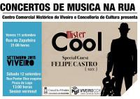 """""""Música na rúa"""", en Viveiro, los días 11, 12 y 18 de septiembre de la mano de Centro Histórico y de la Concejalía de Cultura."""