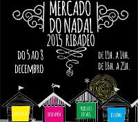O Concello de Ribadeo ultima os preparativos do XIII Mercado do Nadal, que terá lugar na rúa San Francisco do 5 ao 8 de decembro.