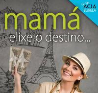 """Acia Burela sortea un bono de 500 euros para unha viaxe dentro da campaña do día da nai. O eslogan elixido é """"Mamá elixe o destino""""."""