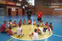 Cangas de Narcea abre el plazo de inscripción para el campus de fútbol sala, que organiza la Fundación Indecum.