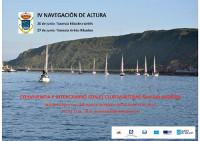 Los días 20 y 27 de junio se celebrará la IV Navegación de Altura que organizan el Real Club Náutico de Ribadeo y el Club Marítimo San Balandrán de Avilés.