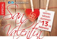 Gastronomía y ofertas en alojamiento para celebrar San Valentín, del 12 al 14 de febrero, en el hotel Nordés, en Burela.