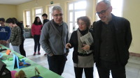 Ata finais de abril estará aberta no IES de Ribadeo Dionisio Gamallo a exposición ovícola literaria, realizada por alumn@s do centro para celebrar o día do libro.
