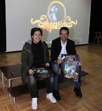 """O auditorio da Casa da Cultura, de San Ciprián, estreará o 27 de novembro a súa nova pantalla coa proxección da película de animación """"Espírito do bosque""""."""