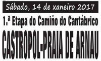 Pasada das Cabras, de Burela, organiza unha ruta polo Camiño Norte, en Asturias, o 14 de xaneiro. Será entre Castropol e a praia de Arnao.