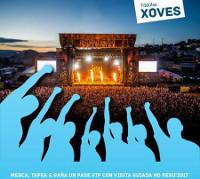 """Beiras de Viveiro sortea pases vip para o Resurrection Fest 2017. A iniciativa está incluída na campaña """"Merca en Covas, Tapas e Copeo""""."""