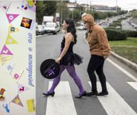 """O teatro Pastor Díaz, de Viveiro, acollerá o 12 de maio """"Pedanca e Oso"""", un espectáculo aldaolado sobre o amor. Organiza: Pensamento e Sementeira."""