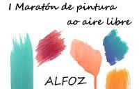 Alfoz será escenario este sábado, 13 de agosto, do I Maratón de Pintura ao Aire Libre, que organiza a Área de Cultura e Turismo do Concello.