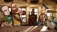 """Este sábado, 18 de xullo, nova sesión de cine ao aire libre na praza da Mariña, en Burela. A cinta elixida é """"Piratas"""", unha película de animación para toda a familia."""