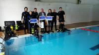 A piscina olímpica e a Casa da Cultura de San Ciprián acollerán o 27 de febreiro un curso de iniciación ao mergullo de competición e outro de árbitros autonómicos.