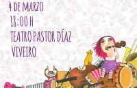 """O 4 de marzo chegará a Viveiro """"Pitusa Semifusa"""", un espectáculo participativo e teatral pensado para @s máis pequen@s."""