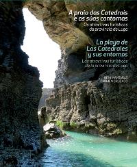 """El libro """"La playa de Las Catedrales y sus entornos"""" de Beni Mántaras y Carmen Cruzado también está a la venta en el Parador de Turismo de Ribadeo desde mediados de noviembre"""