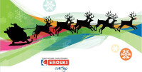 O Hipermercado Eroski Ribadeo organiza un Certame Infantil de Postais de Nadal. Será o 11 de decembro ás seis da tarde.